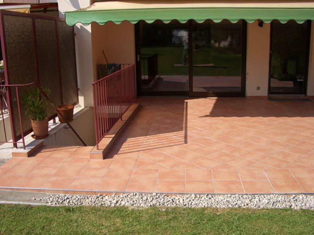 Terrasse fertiggestellt